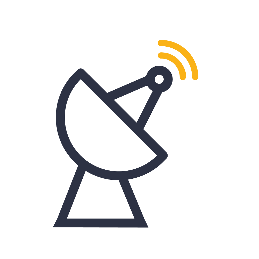 Jaringan satelit C-Band, Ku-Band & Ka-Band